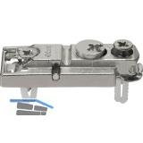BLUM CLIP Montageplatte gerade, EXPANDO, HV: Exzenter, Distanz 0 mm