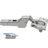 BLUM CLIP top Standardscharnier 110°,9,5mm gekröpft mit Feder, Einpressen