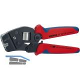 KNIPEX Crimpzange selbsteinstellend AWG 28-7  0.08-10.0 mm²  Fronteinführung