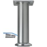 Dekorfuß Fuß ø 40 mm, Länge 120 mm, Fußteller, Aluminium gebürstet