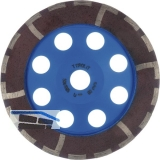 TYROLIT Diamant-Trockenschleifteller Premium DGAB*** 125x18x22.2 mm