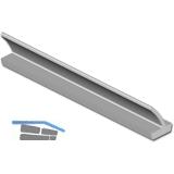 Dichtungsprofil Isostar Lippe RO 23, Kunststoff grau