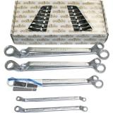 SOLIDO Doppelringschlüssel-Satz DIN838 6-22 mm 8-teilig