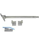 Schließfolgeregler DORMA SR 390 für Stahltüren, Stahl verzinkt