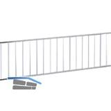 VAUTH-SAGEL Drahtgitter, Höhe 120 mm, Länge 2110 mm, Stahldraht silber RAL 9006