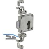 JuNie 7401 Zylinder-Drehstangenschloss für Profil-Halbzylinder, Zamak