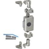 JuNie ASS 7581 Zylinder-Drehstangenschloss Dornmaß 16 mm, Zamak