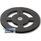 Drehteller Discociak 1 Außen ø 160 mm, Höhe 8 mm, Kunststoff schwarz