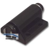 SECOTEC Druckmagnetschnapper einfach Kunststoff schwarz SB-1 BL2