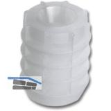 SECOTEC Kunststoffdübel 8,6X12 mm weiß für Scharniertopfmontage SB-20