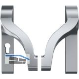 Stangengriff ECO EPN 900 IV  Alu silber beschichtet PZ 72