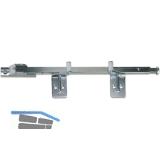 Schließfolgeregler SR Basis-1 für Flügelbreiten bis 1600 mm, Stahl verzinkt