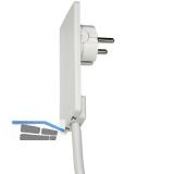 EVOline Plug-Schukostecker, max.3500 Watt, Kunststoff weiß