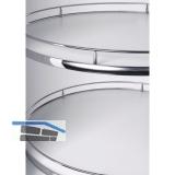 VAUTH-SAGEL RECORNER MAXX Eckschrank Drehbeschlag, KB 800 mm, Holz grau/RAL 9006
