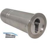 Rohrtresor klein econ 78 ohne Maueranker, Rohr ø 50 mm, Länge 143 mm, Aluminium