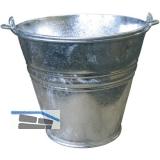 Eimer verzinkt konisch ø 33/32 cm mit Tragebügel Inhalt 14 Liter