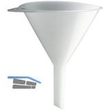 Einfülltrichter aus Plastik Durchmesser 100 mm