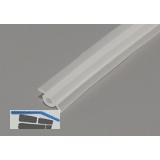 Einlegeprofil Fritz Länge 3000 mm, Kunststoff transparent