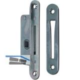 Einstemmzunge mit Schließblech, DM 10 mm, rund, Stahl verzinkt