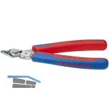 KNIPEX Elektronik-Super-Knips Inox DIN 9654 Form 1 Länge 125 mm