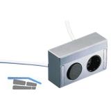 Energie-Box 2 230 V, mit Schalter und 1 Steckdose
