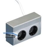 Energie-Box 3 230 V, mit 2 Steckdosen