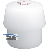Schonhammer-Einsatz Kopfdurchmesser 40 mm Super-Plastik weiß