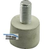 Ersatzgummi für Türfeststeller, Hub 30 mm
