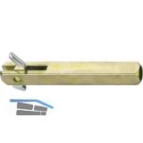 FSB Wechselstift 05 0115,60 mm,VK 8 m. Hülse 8,5 mm Maß X =22,5-31,5 mm,verzinkt