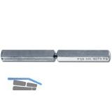 FSB Spezialstift 05 0125 geteilt, LI 45,5xLA50mm,VK 9 mm,Stahl gelb passiviert