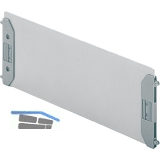 HETTICH SYSTEMA TOP 2000 Fachteiler, Format A5, Maß X 220 mm, Stahl Alu-Finish