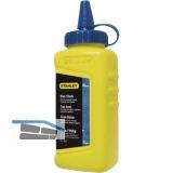 STANLEY Farbkreide blau in Pulverform für Lotschnurautomat 115 Gramm