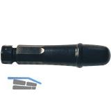 BLU-DAN Schnellspann-Feilenheft PVC 80 mm
