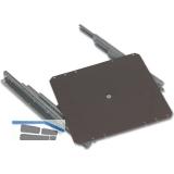 Vollauszug 1005 320x320 mm, Stahl schwarz beschichtet