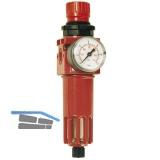 Druckluft Filterdruckminderer mit Anschlussgewinde 1/2\