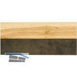 Fugengummi mit Holzrücken Breite 200 mm