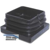 Fußkappen für Vierkantprofil, 100x40, Wandstärke 1,5 -3,5mm Kunststoff schwarz