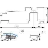 GU Thermostep 204 Bodenschwellen Verbinder-Set, ab RAB 6701 mm