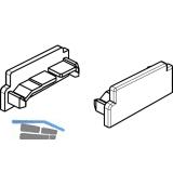 GU Thermostep/Timberstep Endkappe zu Aufsatzschiene P1634, links