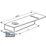 GU Timberstep Rahmen-Eckverbinder-Set unten IV78
