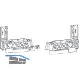 GU-966/150 mZ/oZ Grundkarton Laufschuhe, Schema A-K und C, links, 150 kg