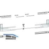 GU-966/150 mZ/oZ Profilbeutel, Schema A-K und C, L=1960 mm, weiß