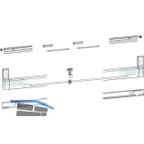GU-966/200 mZ Profilbeutel, Schema A-K und C, L=2460 mm, silber