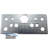 Distanzplatte für Kastenriegelschloss, 1 mm, Stahl verzinkt