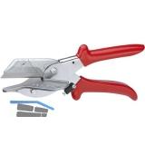 KNIPEX Gehrungsschere für Kunststoff- und Gummiprofile 215 mm