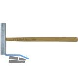 STUBAI Glaserhammer mit Holzstiel Gewicht 160 g