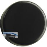 HETTICH Glastür-Zierkappe rund, Kunststoff schwarz, 70051