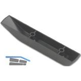 Gleitkufe Breite 18 mm, Länge 110 mm, Kunststoff schwarz