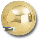 GRUNDMANN Knopfdrückerlochteil Flachform, ø 45 mm, Messing pol.