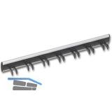 Gürtelhalter starr Modell P, Aluminium/Kunststoff schwarz